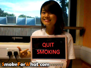 Quit Smoking Supporter - Su Huiting - photo